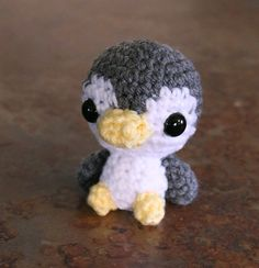Amigurumi Penguin Doll  Made to Order  Kawaii Baby by dsgnGrl