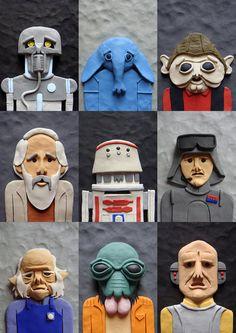 Plasticine Star Wars