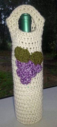 Wine Bottle Cozy Free Crochet Pattern Off The Hook Astronomy