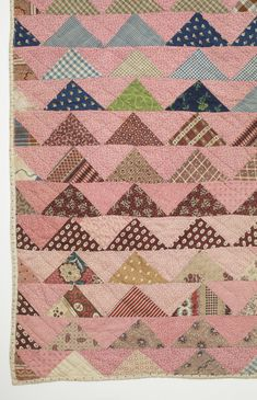 Child's Quilt, 'Flying Geese' | LACMA Collections