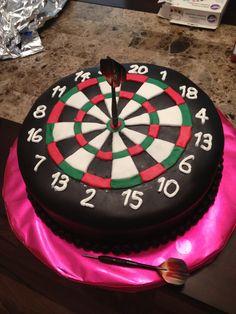#dart #board cake....groom's cake!