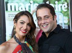Patrícia Poeta e Beto Bardawil (Foto: Reginaldo Teixeira)