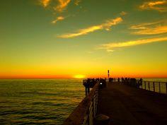 Sunset Hermosa Pier
