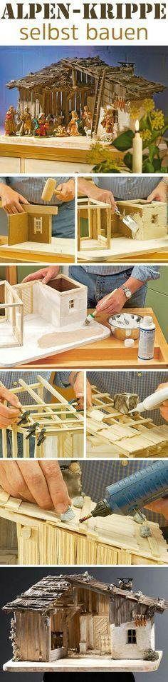 Holzkrippe bauen