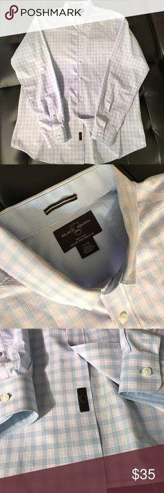 BLACK BROWN 1826 (80's 2-PLY) Men's button down long sleeve shirt. (80's 2-PLY) BLACK BROWN 1826 XL Black Brown 1826 Shirts Casual Button Down Shirts