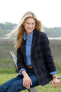 The best-selling misses Classic Wool Blazer features a notch collar and comes in a wide variety of colors. Wool blend is cozy and warm.