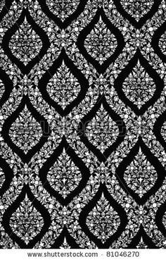 Thai pattern by 89studio, via ShutterStock