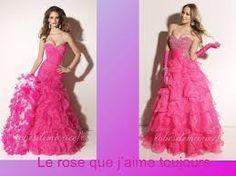 robe avec des roses de soirée - Recherche Google
