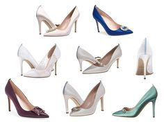 Linha de sapatos de noiva assinada por Sarah Jessica Parker. (Foto: Editora Globo)