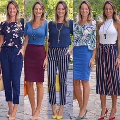 Look de trabalho - look do dia - look corporativo - moda no trabalho - work outfit - office outfit -  spring outfit - look executiva - look de verão  - summer outfit - azul - navy - blue