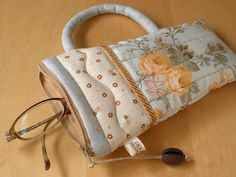 Teacup Pouch pattern ... gift idea for someone with glasses, iPod, mobile, etc.