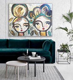 Inspiration Wall, Painting Inspiration, House Painting, Painting & Drawing, Arte Pop, Face Art, Diy Art, Illustration Art, Illustrations