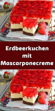 American Cheesecake, Summer Cakes, Easy Baking Recipes, Coffee Cake, No Bake Cake, Food Porn, Food And Drink, Sweets, Cooking