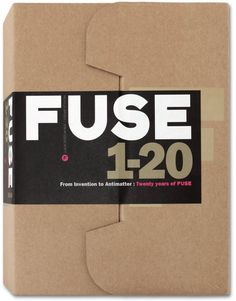 Launched in 1991, Fuse was a ground-breaking graphic design magazine by Neville Brody & Jon Wozencroft. Fuse 1-20, now republished in facsimile by Taschen