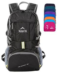 7e4ff2d6a9a4 Venture Pal Lightweight Packable Durable Travel Hiking Backpack Daypack