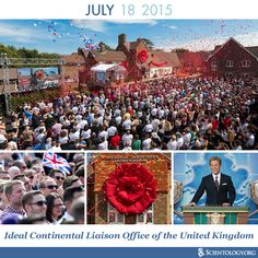 Today we celebrate the Ideal Continental Liaison Office of the United Kingdom opened on Saint Hill Road in 2015.