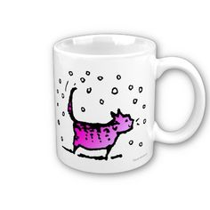 Pink Cat Mugs by Paul Stickland #pink #cats, @clasificadosec http://publicidadkifito.wordpress.com/