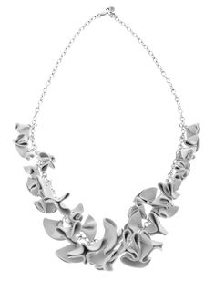 Beautiful Silver and Leather Necklace