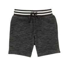 Toddler Boys Black Pull-On Shorts by Gymboree