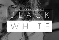 Black & White Lightroom Presets by Prixel Creative  on @creativemarket