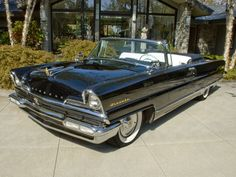 1956 Lincoln Premiere Convertible. - Rarest and most expensive model for 1956