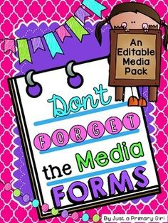 Social Media Release FormsThis pack is for those that just want the media release forms from my Don't Forget the Forms Pack. It does include several forms NOT included in my Dont Forget the Forms Pack.***indicates that item IS NOT included in Dont Forget the Forms Pack.