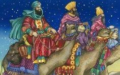 """06-01-2014: Driekoningen #religie ***  Driekoningen, ook wel het """"Feest van de Openbaring van de Heer"""" of Epifanie genoemd, is een christelijk feest dat het bijbelverhaal vertelt van de drie Wijzen die een ster zagen in het Oosten, die hen naar het kindje Jezus begeleidde. Traditioneel is deze Dag op 6 januari"""