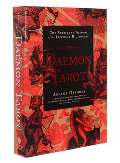 The Daemon Tarot Cards Set at PLASTICLAND Interestingly creepy... may not buy but look at if its in the library...Ivana