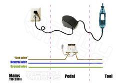 Dremel Foot Pedal Mod - Hacked Gadgets – DIY Tech Blog