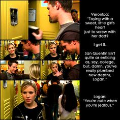 10 Reasons Why I Ship Veronica Mars and Logan Echolls: #5. Because they are a complicated, hot mess.