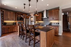 Juglans - contemporary - Kitchen - Calgary - Superior Cabinets