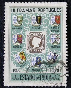 Portuguese-India -Stamp The 100th Anniversary-Postage Stamp-1953