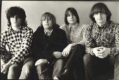 Hoodoo Gurus - Brad Shepherd, James Baker, Clyde Bramley, and Dave Faulkner - circa 1981