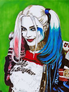 """Suicide Squad"" Harley Quinn - Art Illustration"