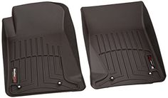 WeatherTech Custom Fit Front FloorLiner for Chevrolet Camaro Black *** Want additional info? Click on the image.