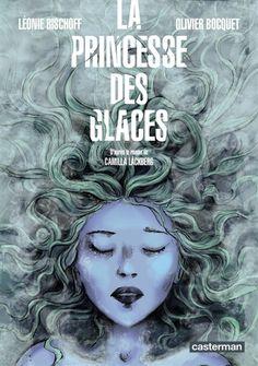 La princesse de glace, BD d'après le roman de Camilla Lackberg.