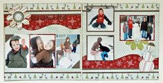 Snowman Fun...Two Page Winter Layout