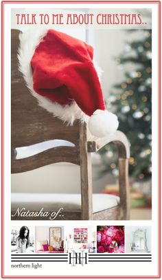 SPACE FOR INSPIRATION: Talk to me about Christmas... Natasha of 'Northern Light'