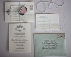 Fancying up your wedding invitations {DIY}