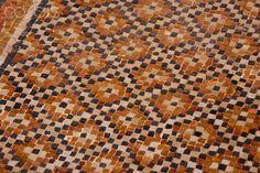 Ancient Roman Mosaic Patterns   Ancient Roman mosaic floor at Caesarea, Israel - 42-28360245 - Rights ...