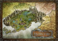 Use this for a book cover? Herwin Wielink cartography -- Rarkonir by *Djekspek on deviantART