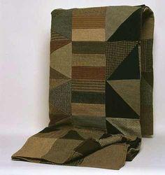 herminehesse:Antique pieced quilt - 1880. Daniel Owen