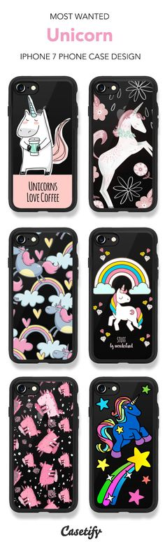 Most Wanted Unicorn iPhone 7 and iPhone 7 Plus case. Shop these phone cases here >   https://www.casetify.com/artworks/F1E5tKX5g2