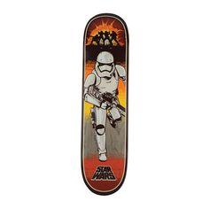 bae0612807 Santa Cruz Star Wars Episode VII Stormtrooper Team Skateboard Deck