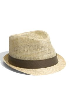 Summer Straw Fedora - The Essential Summer Accessory  ...and straw is the only type of hat that will keep you from overheating.  It is vented to breath while also keeping the sun off.