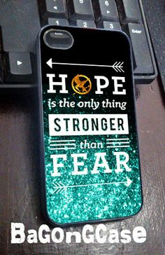 Hunger games quote iPhone 4/4s/5 Case Samsung by BagongCase, $15.00