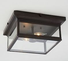 Flush Mount Lighting & Flush Mount Lights | Pottery Barn, MUD