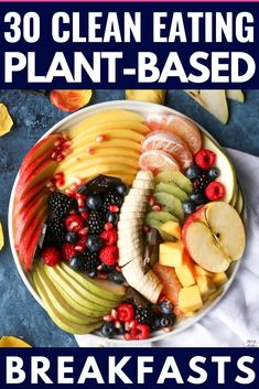 If you're looking for tips on how to start a Plant-Based Diet to lose weight or eat healthier then check out this beginner's guide to the Plant-Based Diet! You'll find grocery lists and 90 simple clean eating recipes for breakfast, lunch, and dinner! With meal planning tips for healthy eating on a budget & a list of sources of protein, you'll have everything you need to reach your weight loss & nutrition goals! #plantbased #vegan #healthy #cleaneating Plant Based Diet Meals, Plant Based Meal Planning, Plant Based Eating, Plant Based Recipes, Plant Based Diet Plan, Whole Plant Based Diet, Plant Based Snacks, High Protein Vegan Recipes, Vegan Keto