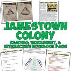 Printables Jamestown Worksheet jamestown worksheet pichaglobal student the o 39 jays and graphic organizers on pinterest