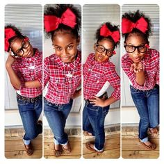 She's a cutie...... Love the hair bow